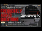 Cakewalk by BandLab Frequenty Asked Questions