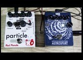 "Create ""birds sound"" with pedal effects - KMA Machines ASTROSPURT & Red Panda PARTICLE"