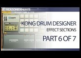 Kong drum designer - reason beginners guide - part 6 of 7