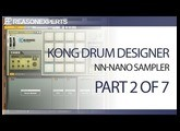 Kong drum designer - reason beginners guide - part 2 of 7