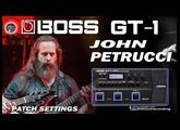 BOSS GT-1 JOHN PETRUCCI Distortion [GT1 Patch].