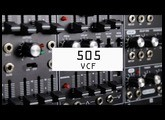 Roland SYSTEM-500 505:VCF Module Overview