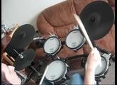 Rock improvisation -  Mixture Rock  Roland V-Drum TD-9 Kx2
