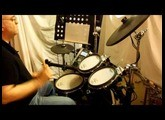 Incognito - N.O.T.  live@Radio Montecarlo; my version with Vdrum Roland TD9