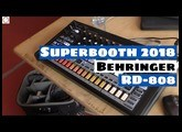 Superbooth 2018: Behringer Rhythm Composer RD-808 (Prototype) Quick Look!  | SYNTH ANATOMY