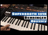 Superbooth 2018: Behringer Odyssey Synthesizer Prototype First Look & Sounds | SYNTH ANATOMY