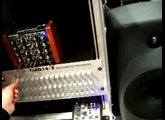 playing with the Doepfer dark energy synth, Musikmesse 2009