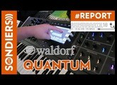 [SUPERBOOTH 2018] WALDORF QUANTUM - juste du son / just sound / no talking