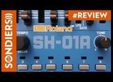 ROLAND BOUTIQUE SH-01A : synthétiseur polyphonique avec séquenceur (réédition du SH-101)