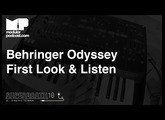 Superbooth 2018 - Behringer Odyssey *First Look & Listen*