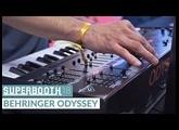 Behringer Odyssey @ Superbooth 2018