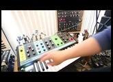 """Moog Grandmother Sequencer + DFAM sync Demo """"Major Tom"""""""