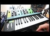 Moog Grandmother Demo, Bach Prelude in C Major