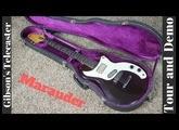 1975 Gibson Marauder Wine Red Demo | Fantastic Guitar!