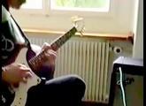 Gibson Marauder Guitar,   Amp:  Fender Chorus DeLuxe 12  (Solid State)