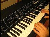 Korg PE 1000 polyphonic ensemble (1976)