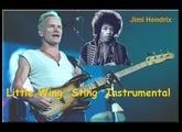 Little Wing Sting Instrumental