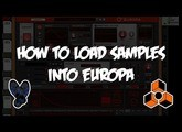 How to Load Samples into Europa | Reason 10.1