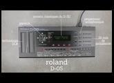 Roland D-05 - Une introduction rapide
