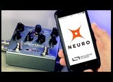 The Ventris Dual Reverb with the Neuro Mobile App.