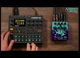 Relaxing Digitakt Jam Through Earthquaker Pyramids Flanger