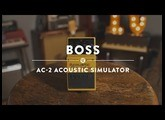 Boss AC-2 Acoustic Simulator | Reverb Demo Video