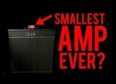 The Smallest Guitar Amp Ever?
