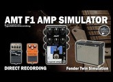 AMT F1 Fender Twin Amp Simulator [Direct Recording].