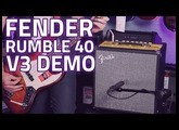 Fender Rumble 40 V3 Bass Guitar Combo Review - Huge Fender Sound, Portable Package