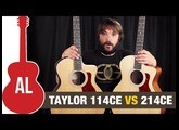 Taylor 114ce vs 214ce - Can you hear the difference?
