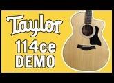 Taylor 114ce Demo