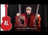 Martin DRS1 vs Guild D-125 Guitar Comparison