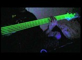 NEON Green Guitar & Bass Strings - Glow Amazing!