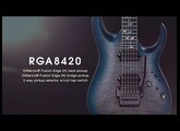 Ibanez j.custom RGA8420 Electric Guitar featuring ichika