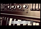 Roland SH-2 analog synth multitrack demo