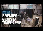 Superior Drummer 3: Premier Genista setup timelapse