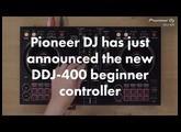 Pioneer Launches DDJ-400 Beginner DJ Controller