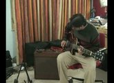 Fender Blackface Deluxe reverb with Japanese Les Paul demo