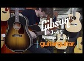 Gibson Montana J45 Vintage (2017) | Acoustic Guitar