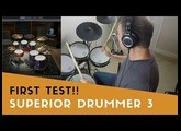 First song using Superior Drummer 3!! Amazing sounds!