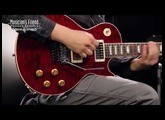 Gibson Custom Alex Lifeson 40th Anniversary R40 Signed Les Paul Axcess Quilt Ruby Red