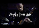 The Ernie Ball Music Man Stingray Special Bass - Tony Levin Demo & Discussion