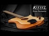 Kiesel Guitars - Zeus Headless Acoustic Guitar