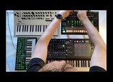 Christopher Kah - Session VII with Arturia MatrixBrute - Minilogue - System1 - TR-8