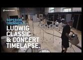 Superior Drummer 3: Ludwig Classic & Concert setup timelapse