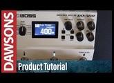 BOSS DD-500 Digital Delay Tutorial