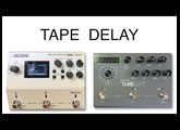 Boss DD500 vs Strymon Timeline Tape Setting STEREO