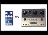 Wampler Ego Compressor vs Origin Effects Cali 76