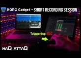 Fun with KORG Gadget Vancouver & KORG MIDI controllers │ Track DEMO - haQ attaQ