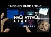 Controlling KORG Gadget with KRFT MIDI │ Bae │ haQ attaQ LIVE ep 10